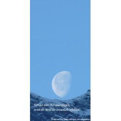 """Schreibblock """"Mond"""""""