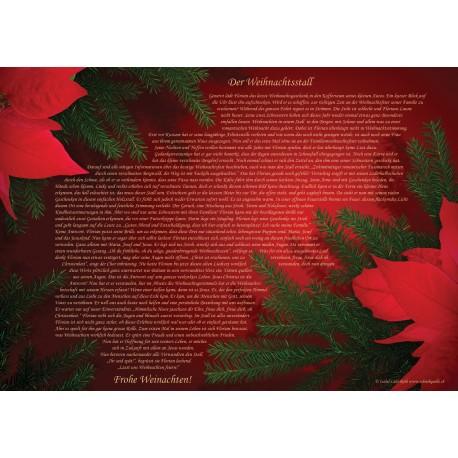 """Tischsets """"Weihnachten"""" (25 Stück)"""