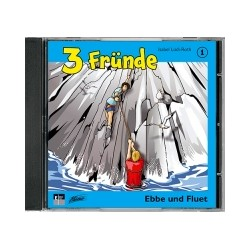 Hörspiel CD, 3 Fründe Folge 1 - Ebbe und Fluet (Schweizerdeusch)