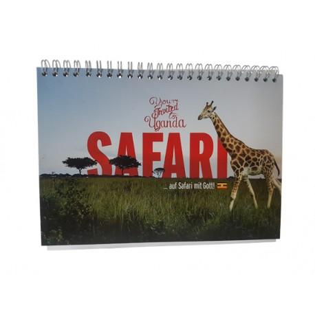 """Aufstellkalender """"Safari mit Gott"""""""