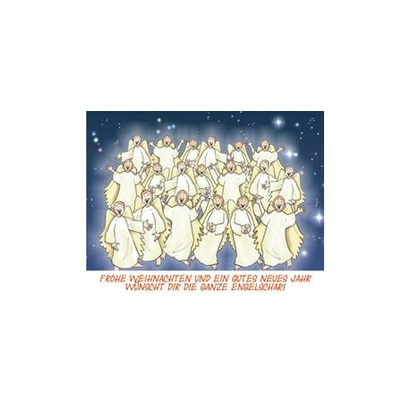 """Bild- und Textkarte """"Weihnachten"""" - 10er Set"""